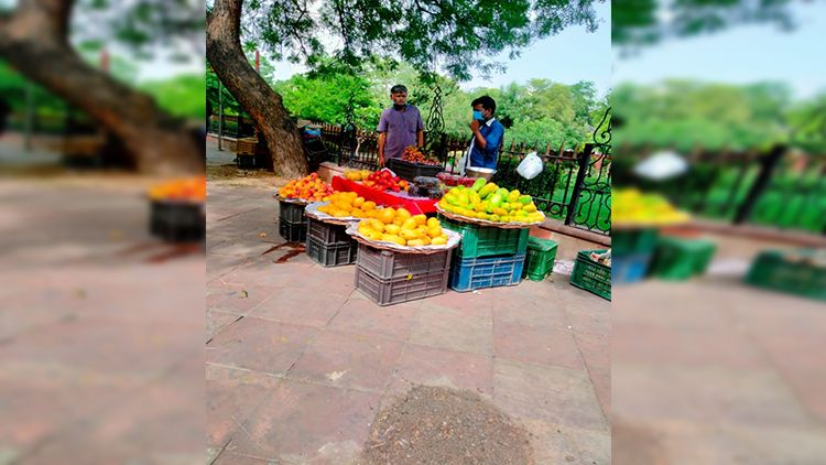 Poor hawkers, especially vegetable vendors, have been able to open shop again; & who minds a juicy mango or litchi during piping hot June