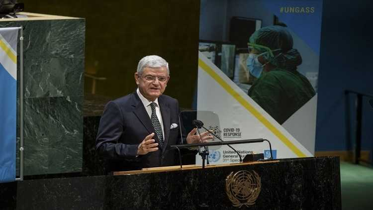UN General Assembly President Volkan Bozkir