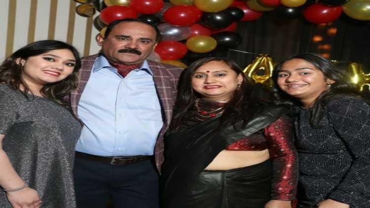 Akhil Sharma with his family (Photo credit: Akhil Sharma)