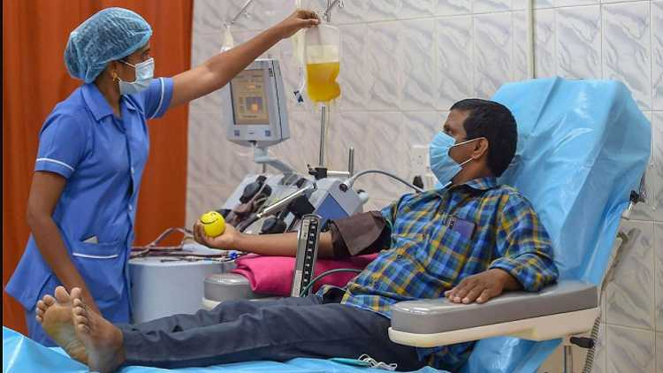 India drops plasma therapy from Covid treatment protocol