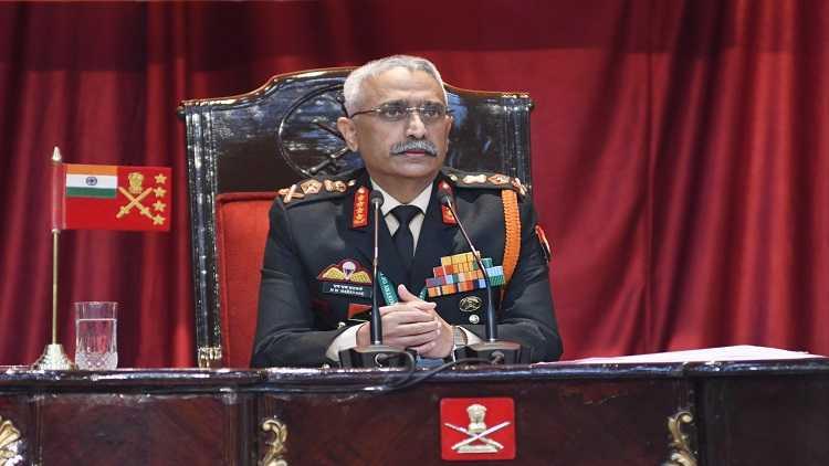 Chief of Army Staff Gen. Manoj Mukund Naravane
