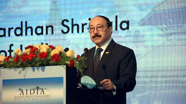 Foreign Secretary Harsh V Shringla