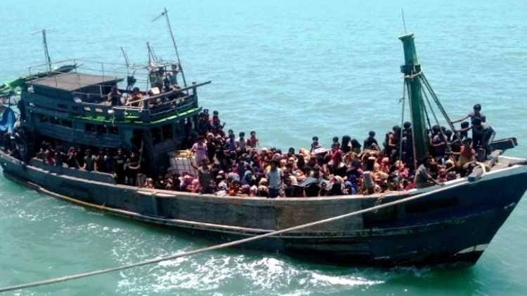 The Rohingya refugee boat