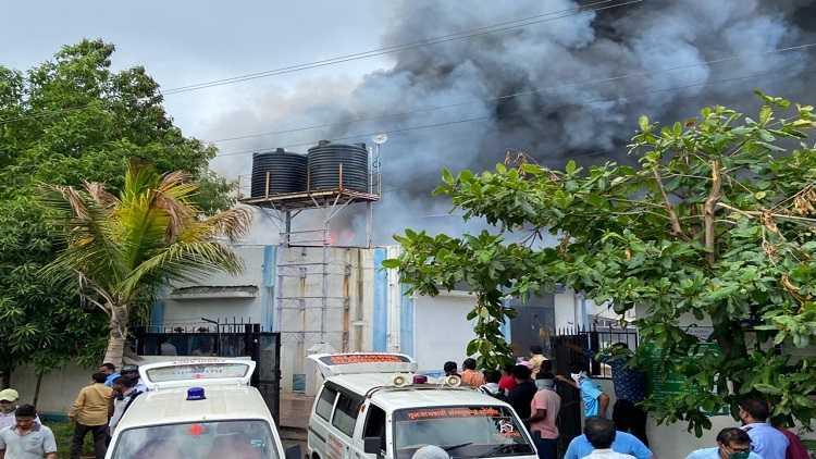 17 killed as major fire engulfs Pune sanitiser factory