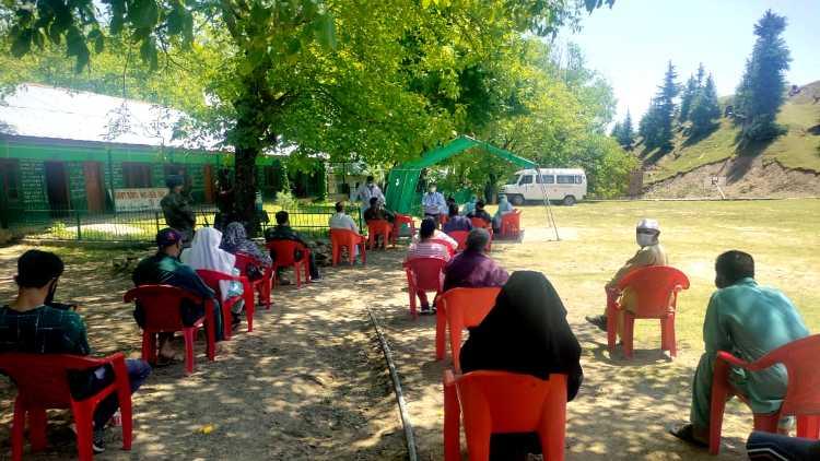 Vaccination reaches Gujjars, Bakarwals in J&K's Doda