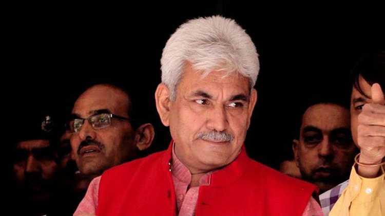 Lt Governor of Jammu and Kashmir Manoj Sinha