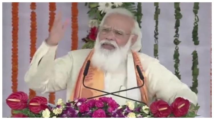 PM Narendra Modi in Varanasi