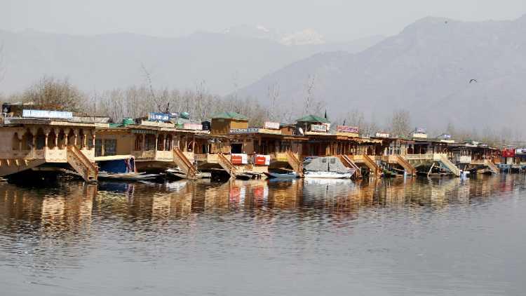 A view of Dal Lake