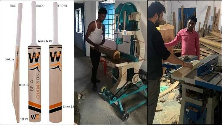 Bats made in Bihar by migrant workers