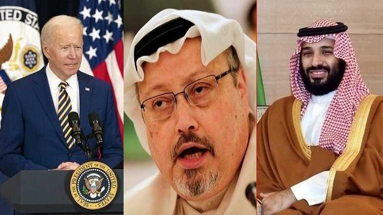 US President Joe Biden, journalist Jamal Khashoggi & Saudi crown prince Muhammed bin Salman