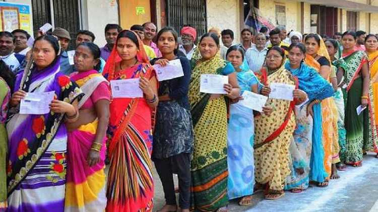 Polling begins in four states and 1 UT