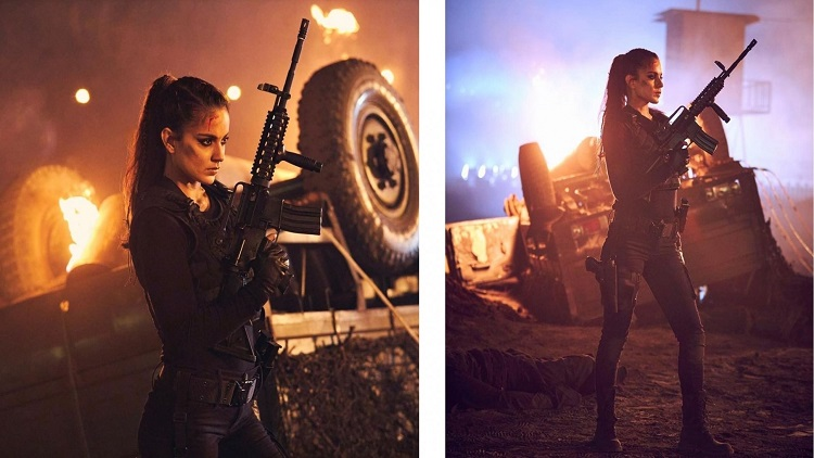 Kangana on 'Dhaakad' role: She's my depiction of Goddess of death