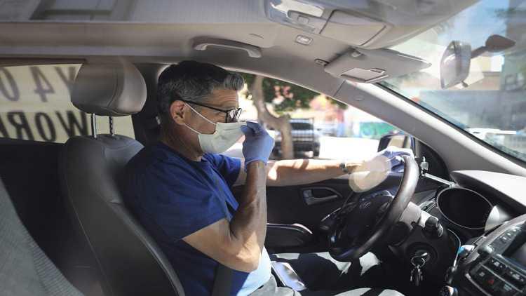 Masks mandatory even when driving alone