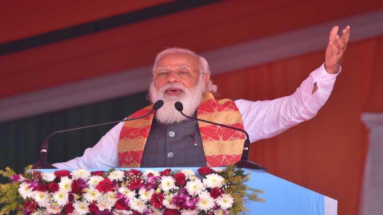 PM Modi in Bengal