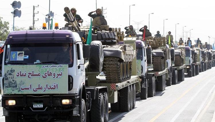 Iran IRGC parade