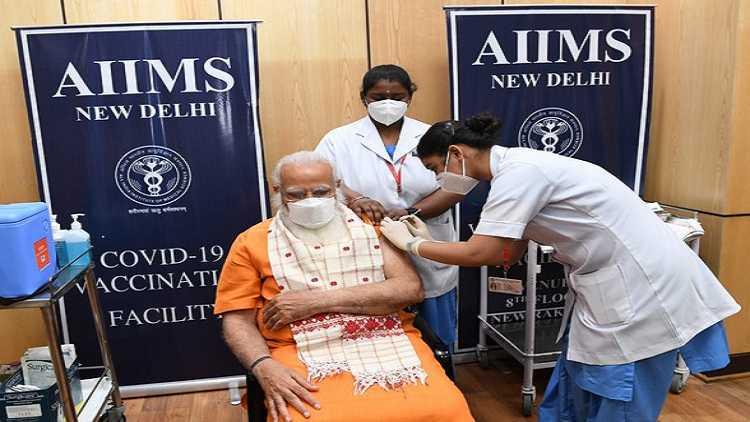 PM Modi receives second dose of Covid