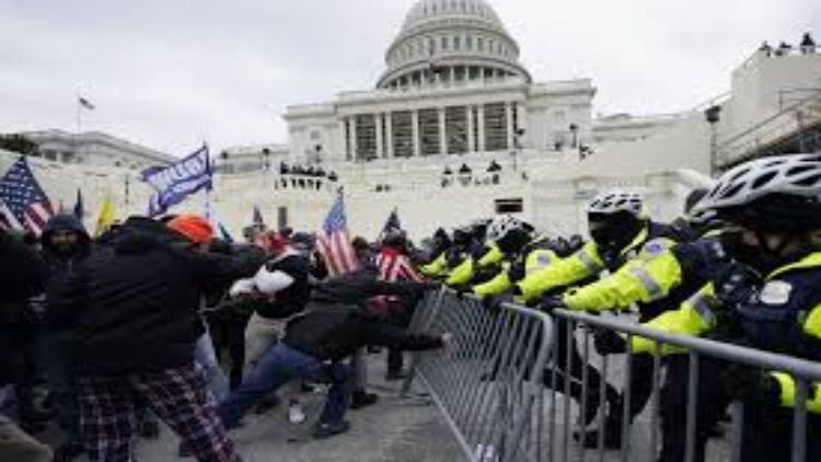 riots in Capitol Hill on January 6
